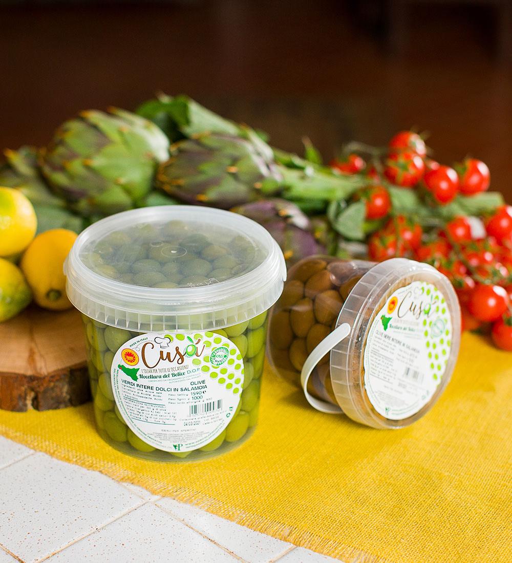 Secchielli Olive Cusa